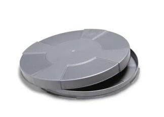 16mm film container