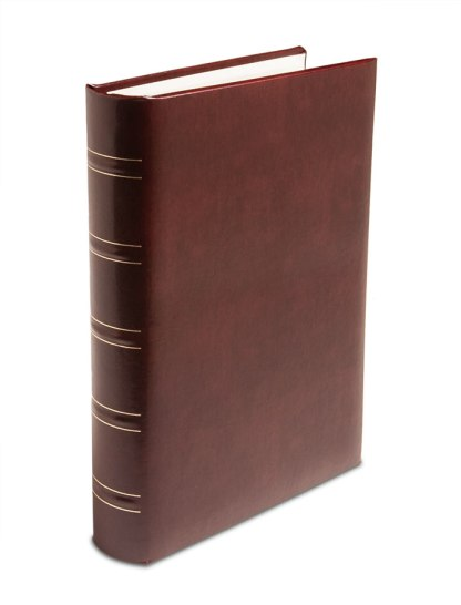 Burgundy Gallery Leather padded album