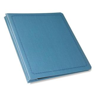 Blue Presentation Book shown closed