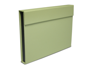 Key lime green magnetic folio