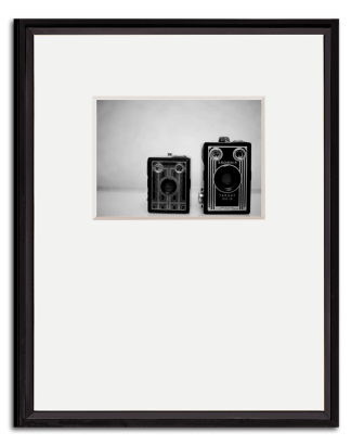 Black gallery collection frames