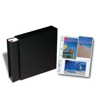 OB binder, slipcase, and pages