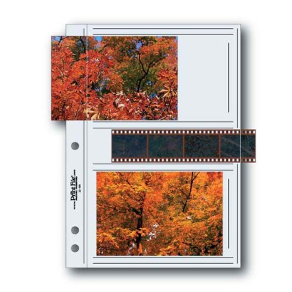 35-4M album page shown with film strip