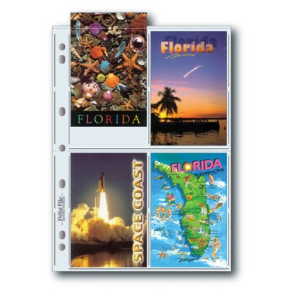 35-4PC page for postcards