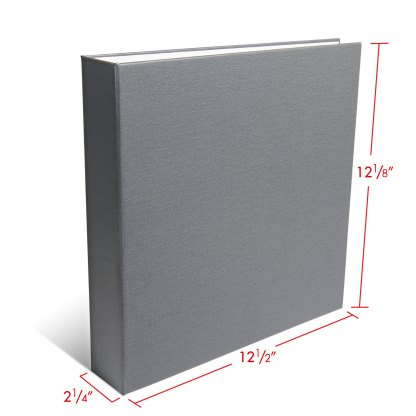 Gray 1.5 OB-binder with dimensions