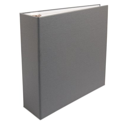 Gray 2.5 Oversize Binder