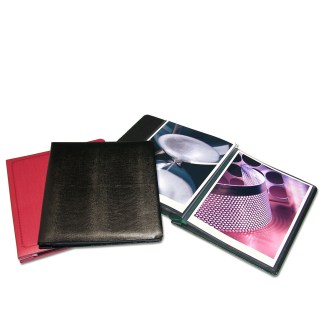 Post Bound Presentation Books- Refillable