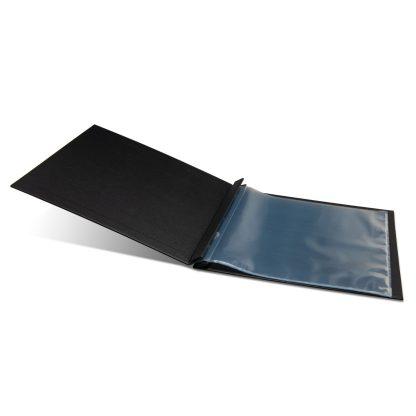 Black scrapbook