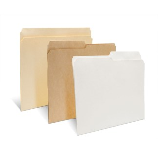 Reinforced Letter & Legal Archival File Folders