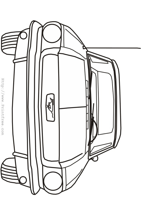 Free skoda octavia coloring pages