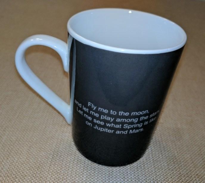 black wrap on mug