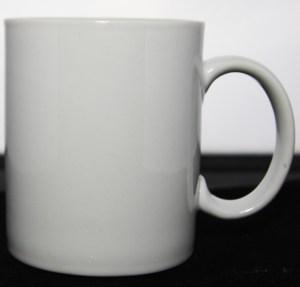 10 oz Pearl White mug Model 33.1P/MUG10 and wrappable