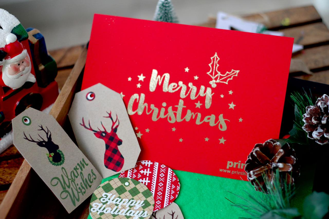 FOILED GREETING CARDS