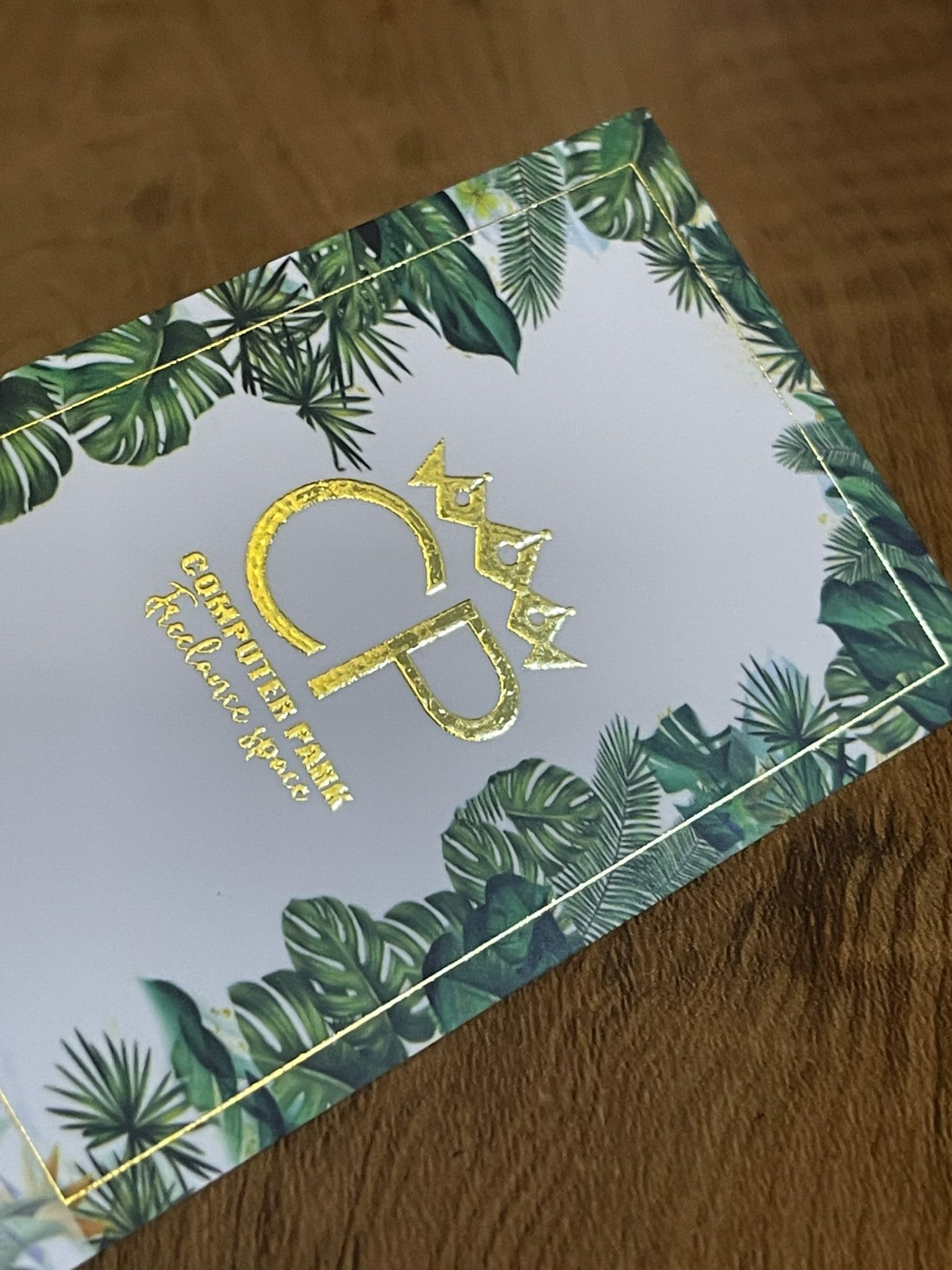 450gsm – GOLD FOILED