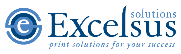 Excelsus Print Solutions Rochester, NY Logo