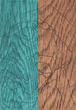 Lucy Smith, Woodself Cool, Intaglio Woodcut, 2015