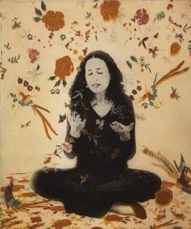 Margaret Ashman, Falling Flowers, Multi plate photo etching