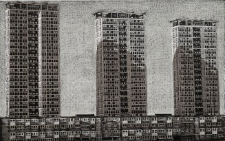 Louise Hayward, Point Blocks, Low Rises, Relief engraving