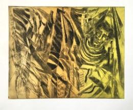 Biagio Mastroianni 'The Futurist' hardground etching £200