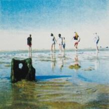 Andrea Robinson 'The Sandcastle' screenprint £160