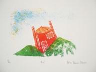 Hebe Vernon-Morris 'Boo' lithograph £180