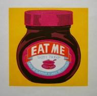Kate Willows 'Eat Me' linocut £160