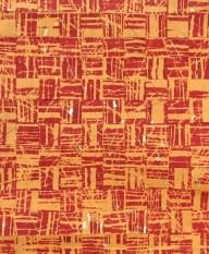 Frances Kiernan 'Threading Through Time' screenprint & gold leaf £165