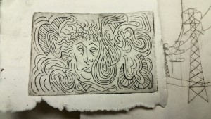akua ink intaglio etching