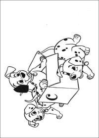 Disegni da colorare: La carica dei 101 stampabile ...
