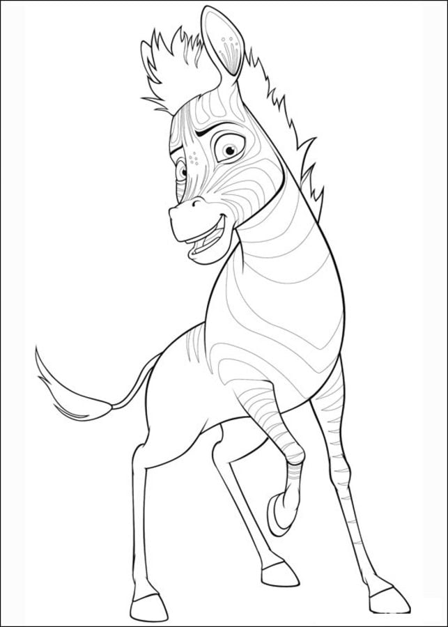 Coloring pages: Coloring pages: Khumba, printable for kids