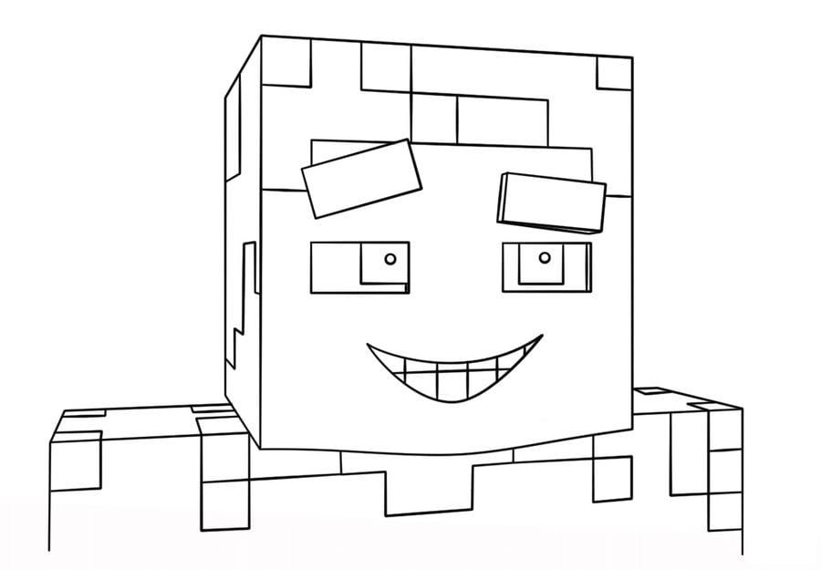 Coloriages Minecraft Imprimable Gratuit Pour Les Enfants Et Les Adultes