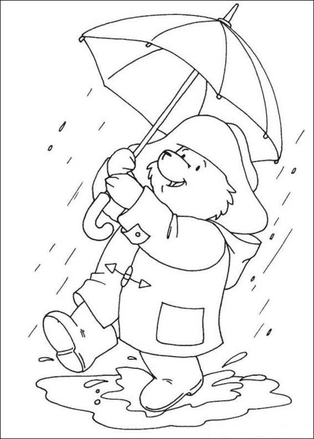 Ausmalbilder: Ausmalbilder: Paddington Bär zum ausdrucken