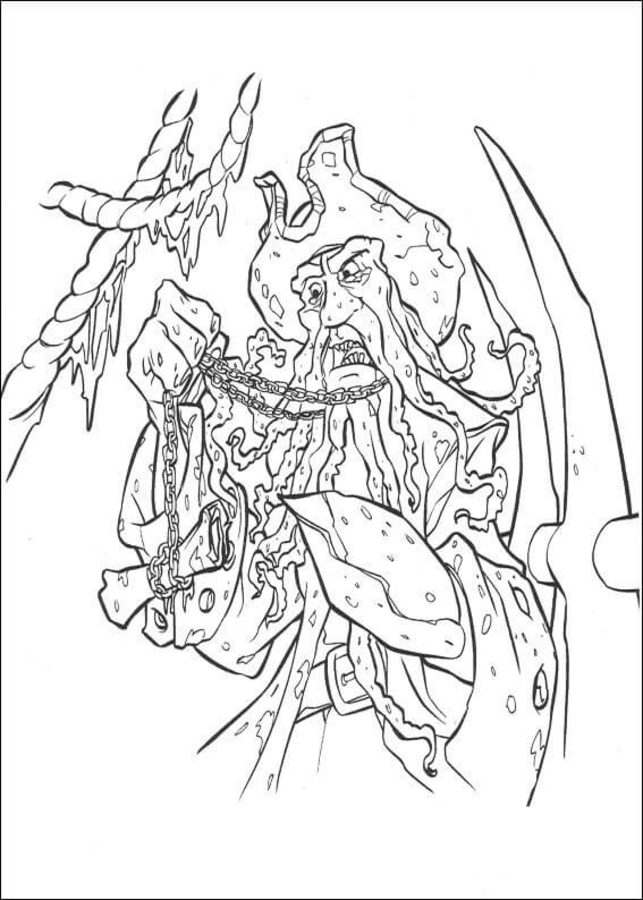 Coloring Pages: Coloring Pages: Pirates Of The Caribbean, Printable For  Kids & Adults, Free