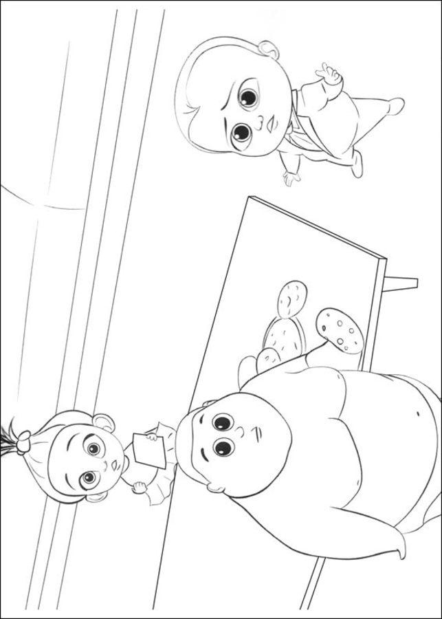 Ausmalbilder Ausmalbilder Boss Baby Zum Ausdrucken Kostenlos Für