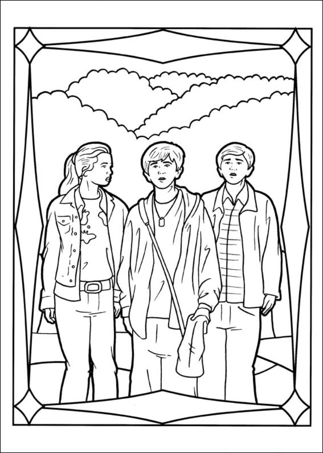 2 Chronicles 20 Page Coloring Pages