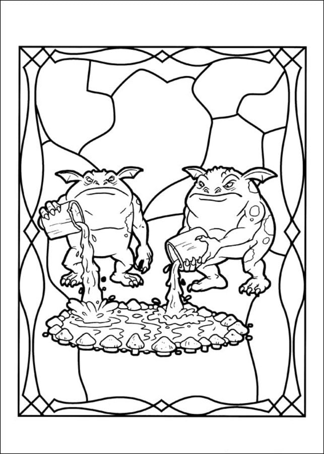 Spiderwick Chronicles Coloring Pages