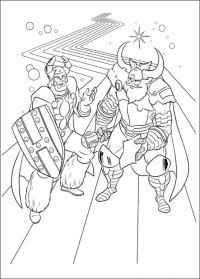 Disegni da colorare: Thor stampabile, gratuito, per