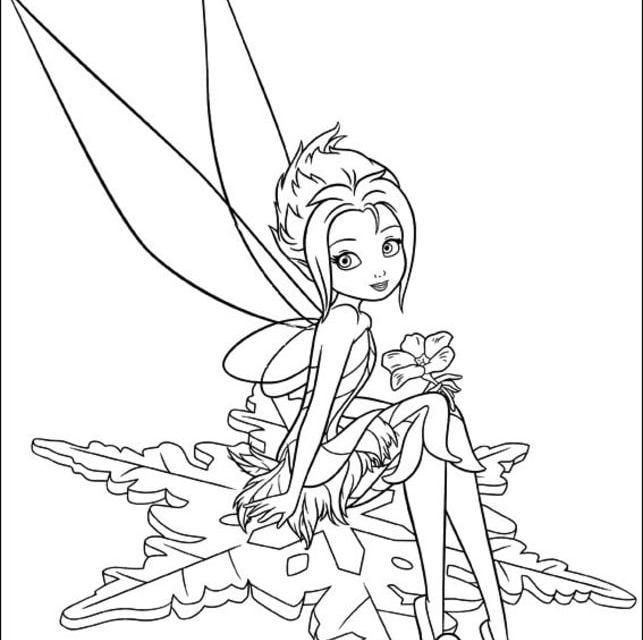 Ausmalbilder: Ausmalbilder: Tinker Bell zum ausdrucken ...