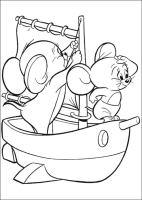 Ausmalbilder Tom und Jerry zum ausdrucken, kostenlos, für ...