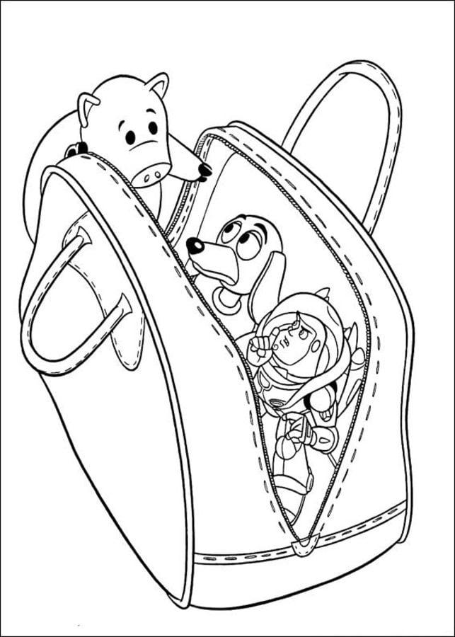 Ausmalbilder: Ausmalbilder: Toy Story zum ausdrucken