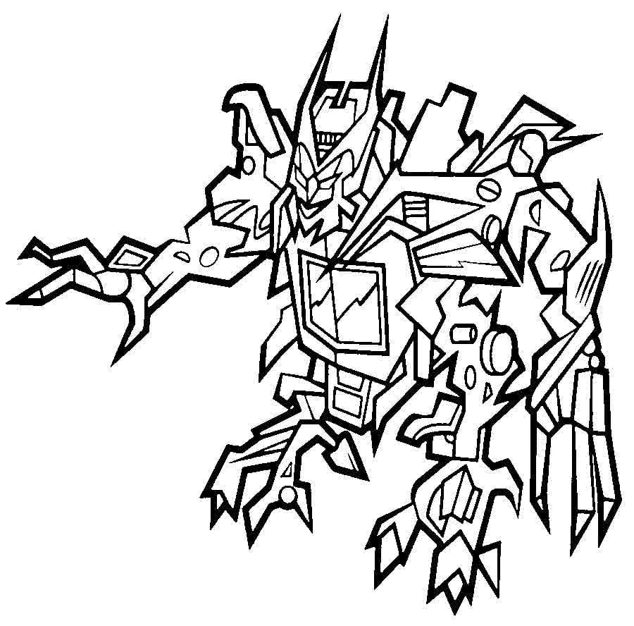 Ausmalbilder Ausmalbilder Transformers Zum Ausdrucken Kostenlos