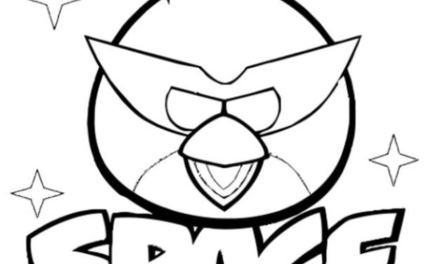 Ausmalbilder: Angry Birds Space