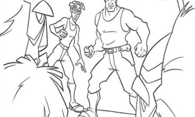 Coloring pages: Atlantis: The Lost Empire