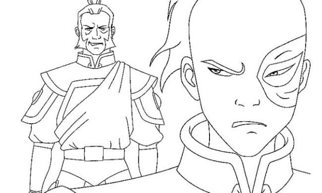 Coloring pages: Avatar: The Last Airbender
