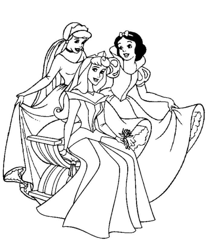 Ausmalbilder Ausmalbilder Disney Prinzessinnen Zum Ausdrucken
