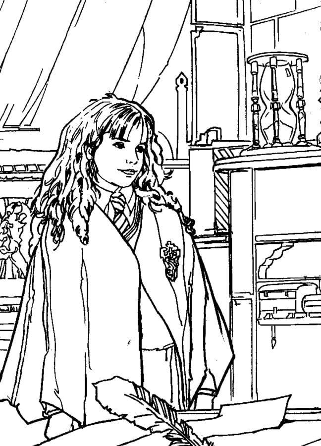 Disegni da colorare: Disegni da colorare: Harry Potter e