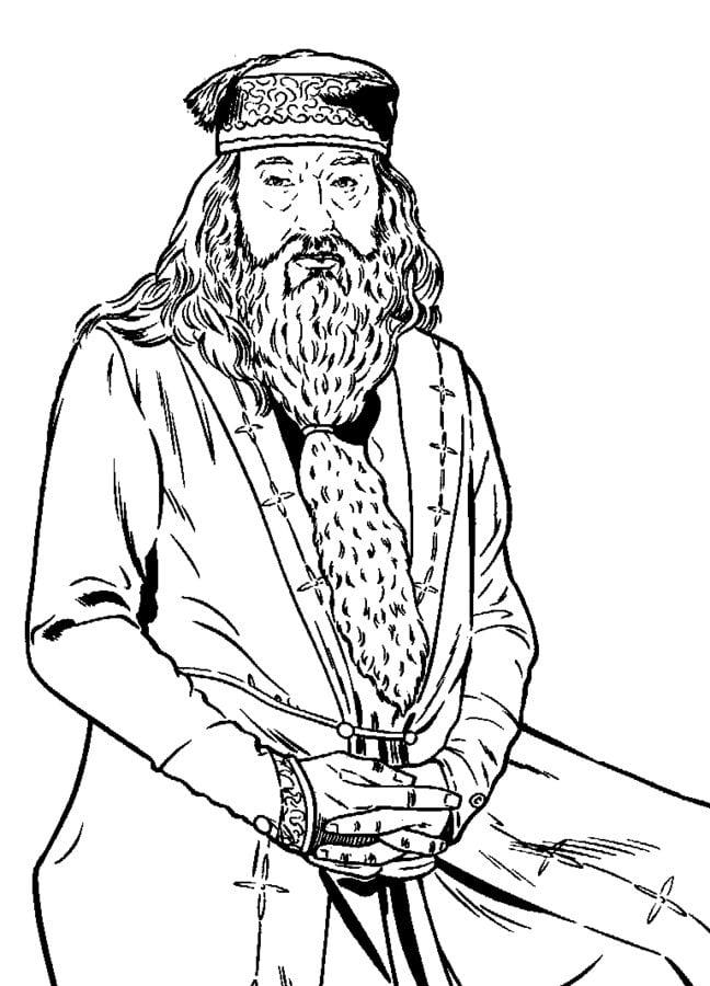 Disegni da colorare: Harry Potter e l'Ordine della Fenice
