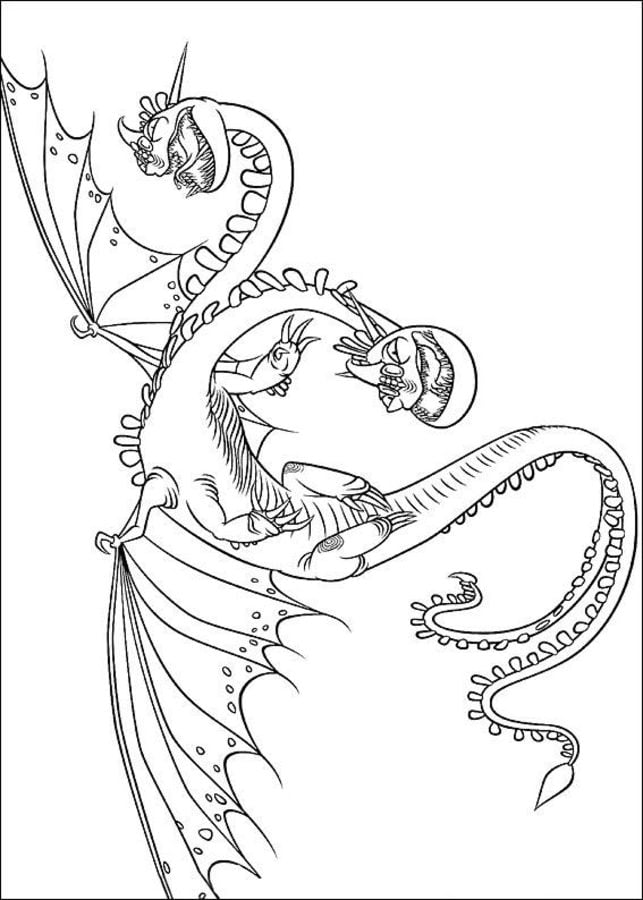 Disegni Da Colorare Disegni Da Colorare Dragon Trainer