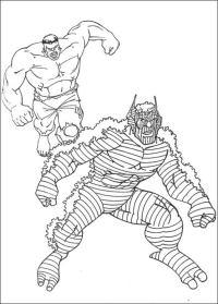 Disegni da colorare: Hulk stampabile, gratuito, per ...