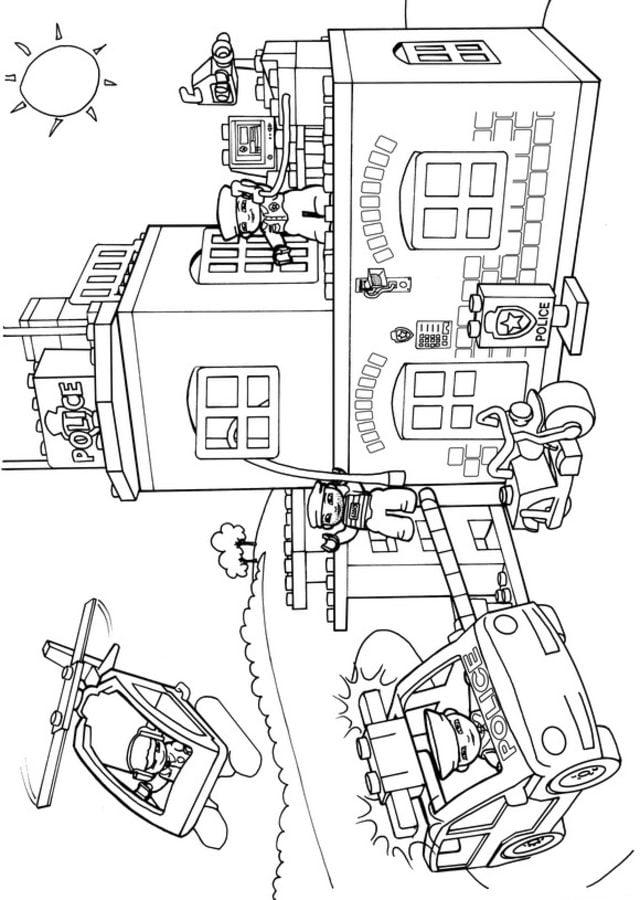 Kolorowanki: Kolorowanki: Lego Duplo do druku dla dzieci i